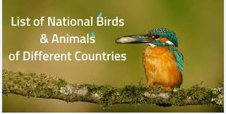 List of National Birds of Different Countries